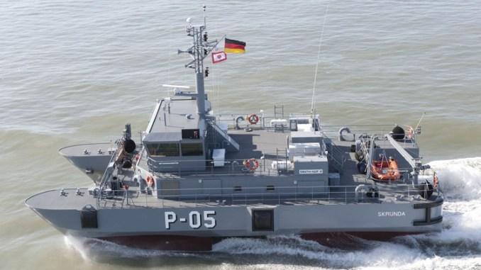 سفينة دورية ألمانية من طراز Skrunda