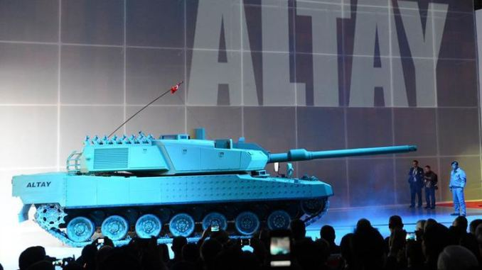 دبابة من إنتاج شركة ألطاي التركية