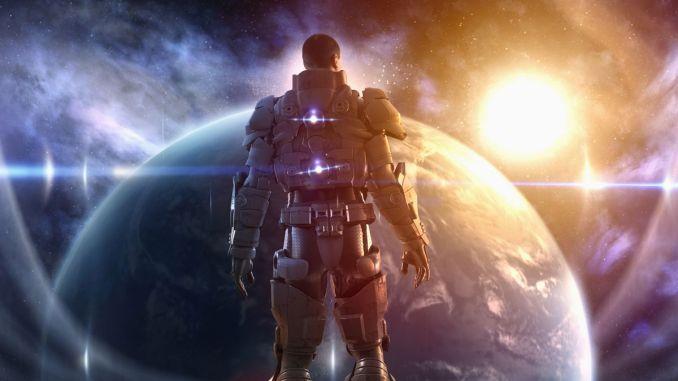 لقطة تصورية لعنصر من جيش الفضاء الأميركي (Colin Anderson/Getty Images)