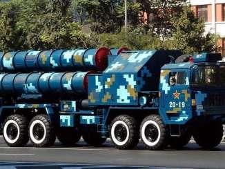 منظومة الدفاع الجوي الصينية HQ-9 (صورة أرشيفية)