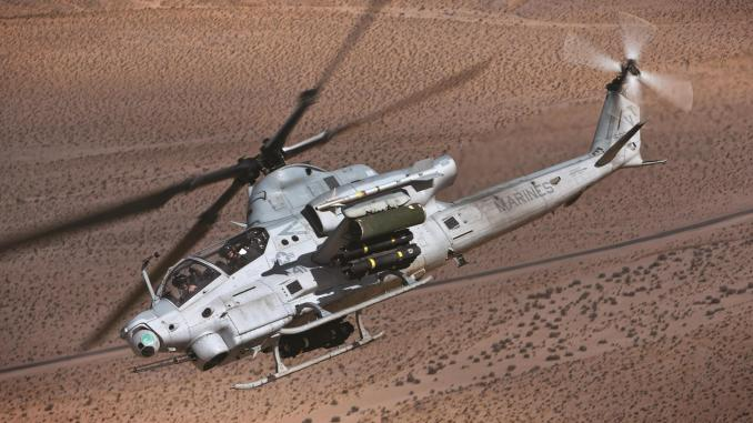 مروحية AH-1Z من إنتاج شركة بيل هليكوبتر