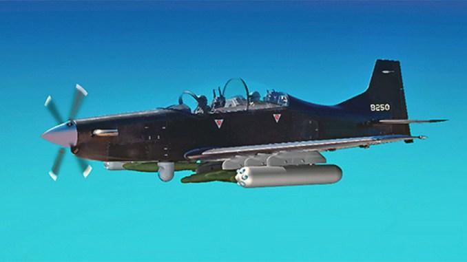 طائرة التدريب إماراتية الصنع B-250 من إنتاج شركة Calidus