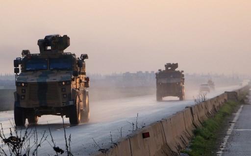 آليات عسكرية تركية
