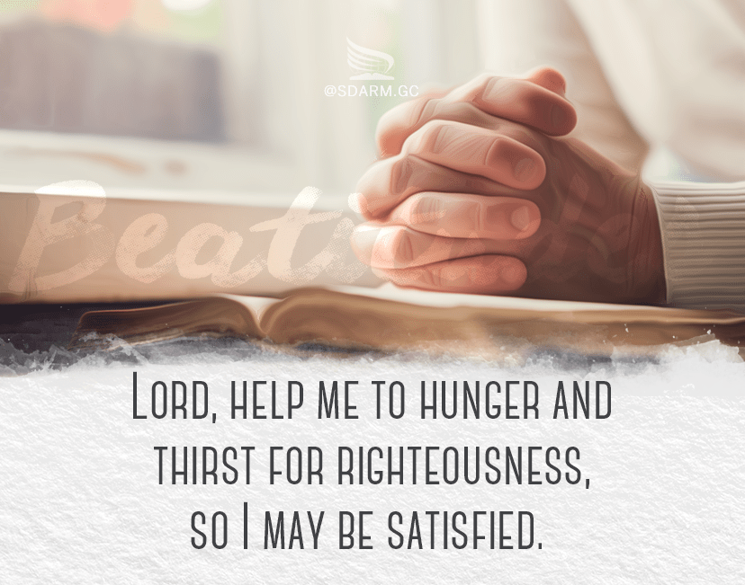 Image result for blessed are those who hunger and thirst for righteousness images