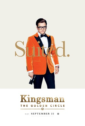 Kingsman Golden Circle karakterposters Eggsy