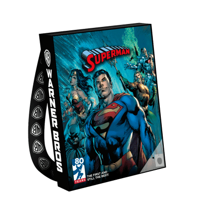SDCC Exclusive Warner Brothers Bag - Man of Steel Superman