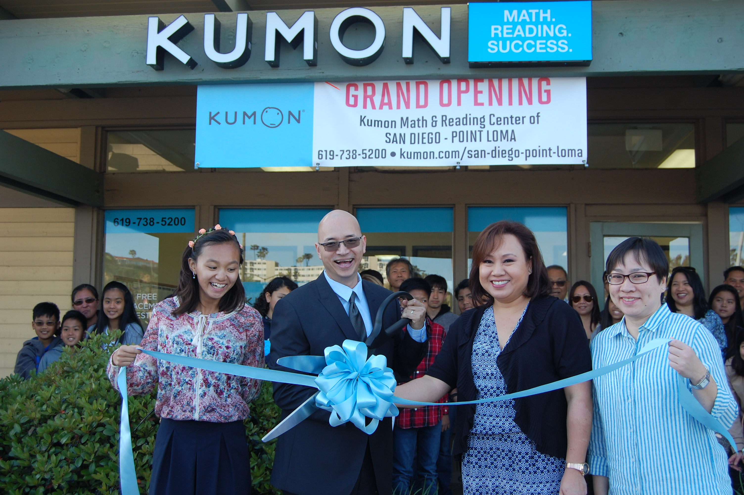 Grand Opening Of Kumon Math And Reading Center Of Point