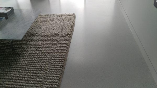 Heated polished concrete floors  Victoria Stone Design