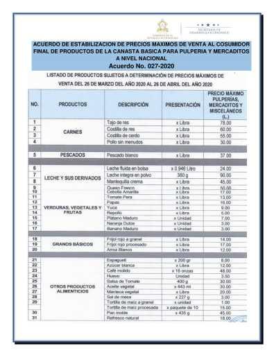 Boletin Informativo Marzo y Abril covid19 2