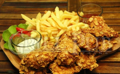 Platoul Crispy  Chicken Mexican - 2 pers