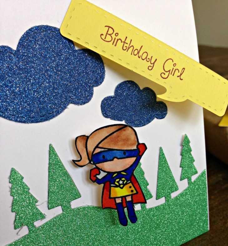 Открытка своими руками на день рождения подруге 5 лет