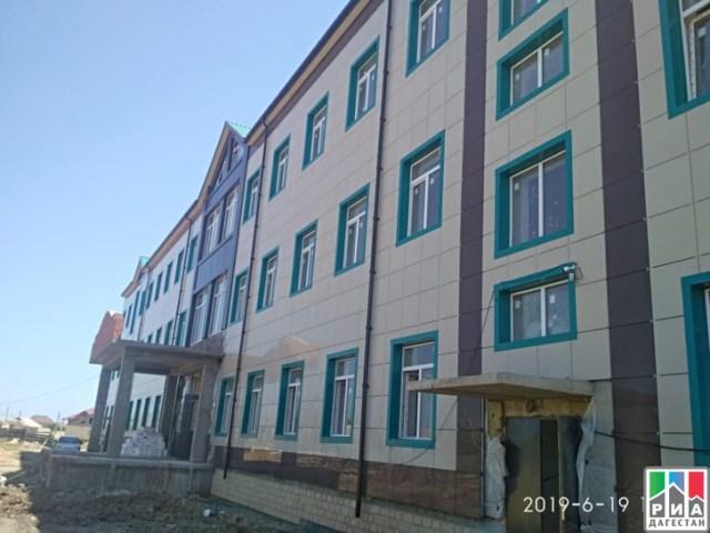 РИА «Дагестан» В рамках инвестпроекта в Каякентском районе строятся больница и школа