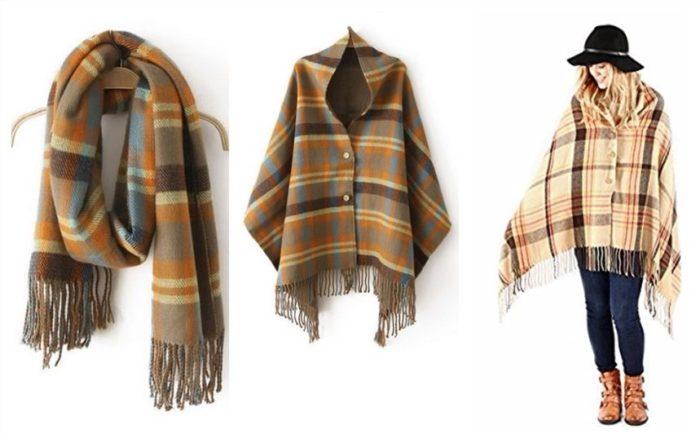 スカーフ「Barberry」からのコート