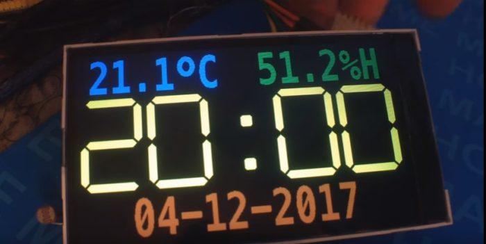 Температура сенсоры бар сағат