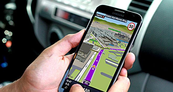 Navigatore GPS.