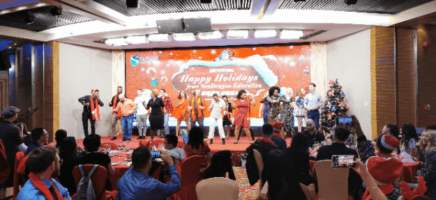 Christmas Party, SDE Christmas Party 2019, SDE Seadragon Education, SDE Seadragon Education