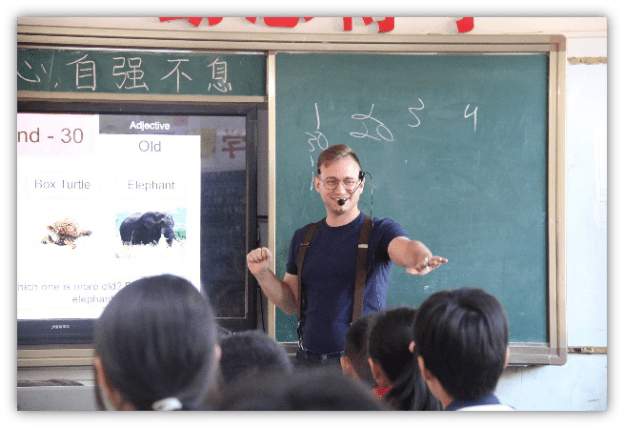 Foreign Teachers, Foreign Teachers in China, SDE Seadragon Education