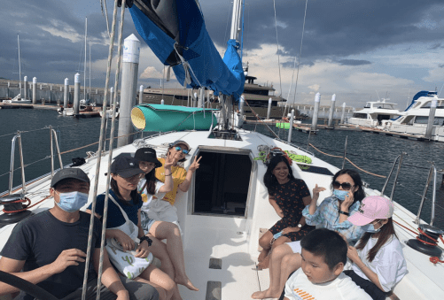 , Sail away with SDE team building, SDE Seadragon Education