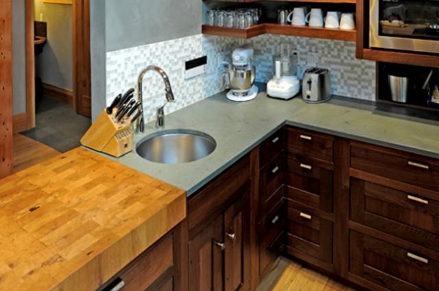 outdoor kitchen countertops design images slate | sd flooring center and