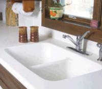 Solid Surface Countertops   SD Flooring Center and Design