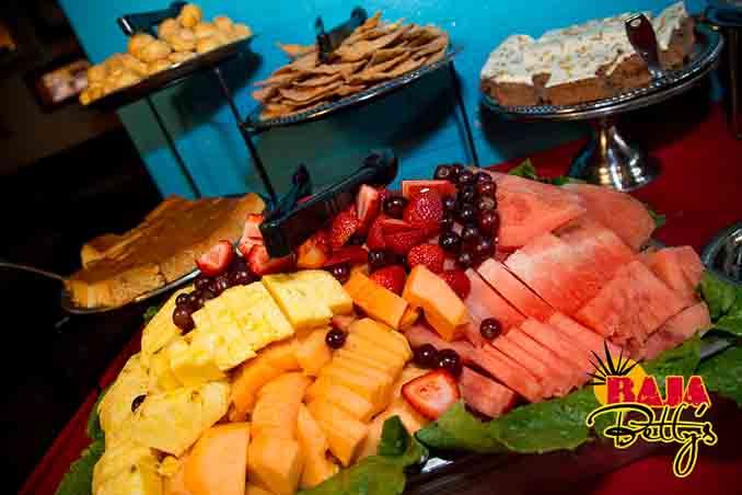 Baja Betty's餐厅的周日早午餐Sunday Brunch Buffet中的精美食品