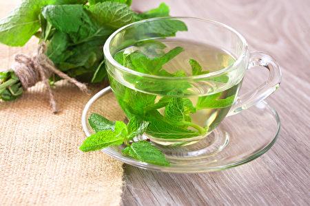 清香的薄荷茶。(Shutterstock图片)