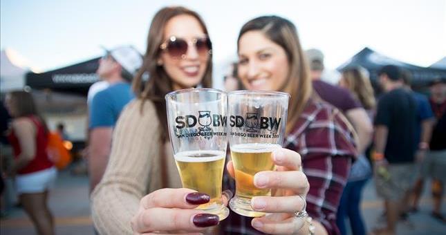 2017年圣地亚哥啤酒周将于11月3日登场!(图片来自San Diego Beer Week官网)
