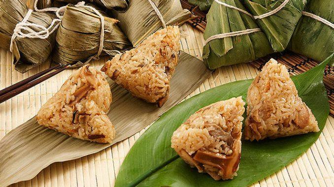 中国的粽子形状各异,口味繁多。(网络图片)