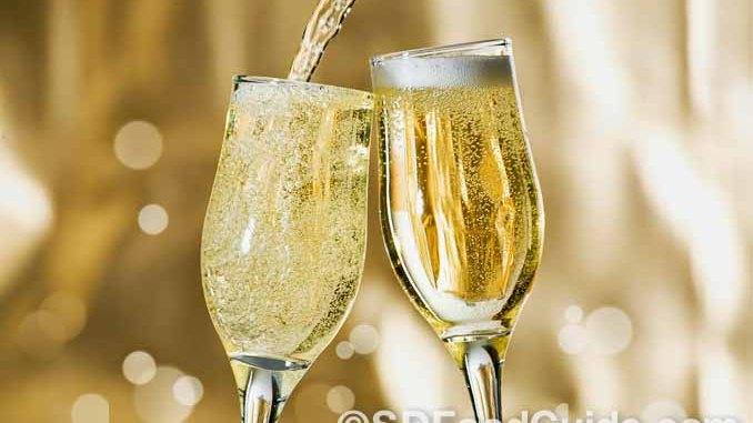 香檳酒一直是各類慶祝活動中必備的酒水。(網路圖片)