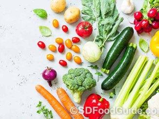 很多蔬菜水果具有美白的作用。(Pixabay)