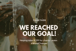 $300,000 MATCH GIFT FOR WOMEN AND GIRLS IN RWANDA HELPS FUEL $1.2M YEAR-END MICRO-DONOR CAMPAIGN BY 5TH ELEMENT AND SOLVER FOR CHARITY: WATER