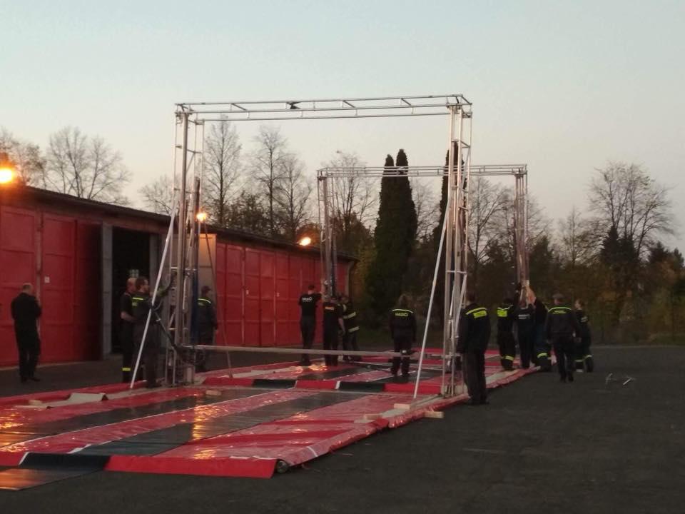 Dekontaminace hasičské techniky