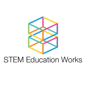 STEM Education Works logo on transparent background.