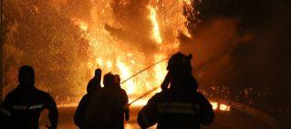 Παρέμβαση Αντιπεριφερειάρχη για την πυρκαγιά στον Κάλαμο