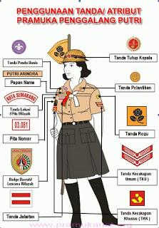 Atribut Seragam Pramuka : atribut, seragam, pramuka, Atribut, Pramuka, Fahmi
