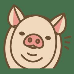 養豬場 - LINE 個人原創貼圖