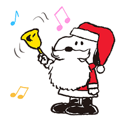 Wonderful Winter Snoopy Pop Up Stickers By TV TOKYO