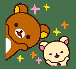 【日文】Rilakkuma 全螢幕貼圖 (拉拉熊) | Yabe-LINE貼圖代購 | 臺灣No.1,最便宜高效率的代購網