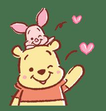 【日文】小熊維尼&小豬   Yabe-LINE貼圖代購   臺灣No.1,最便宜高效率的代購網