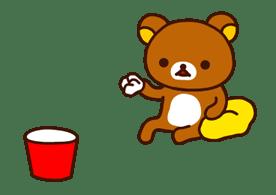 Rilakkuma 動態貼圖 (拉拉熊)   Yabe-LINE貼圖代購   臺灣No.1,最便宜高效率的代購網