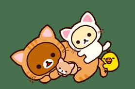Rilakkuma 動態貼圖 (拉拉熊) | Yabe-LINE貼圖代購 | 臺灣No.1,最便宜高效率的代購網