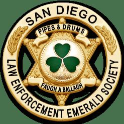 SDLEES Pipes & Drums Badge