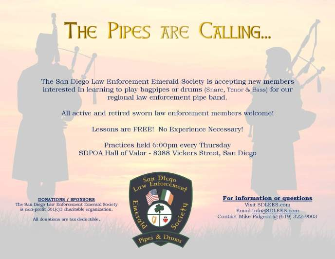 SDLEES_Pipe_Band_Flyer