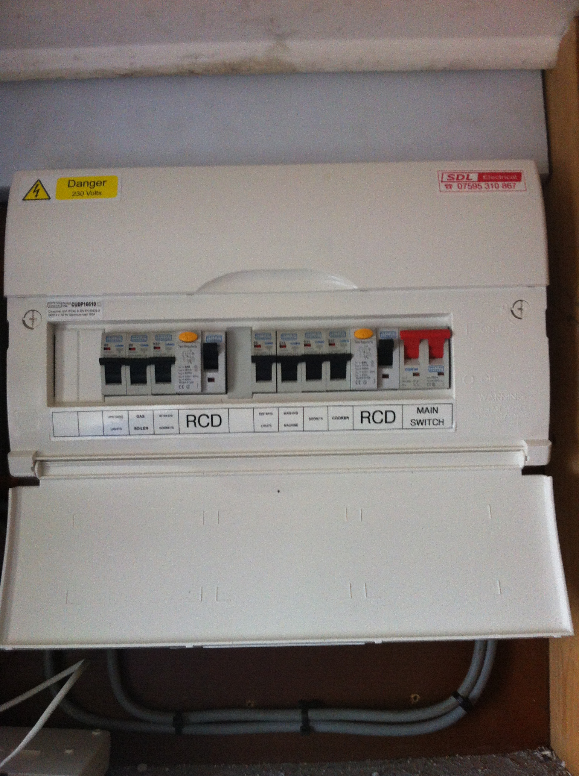 hight resolution of fusebox larne new dual rcd consumer unit consumer unit ballyclare