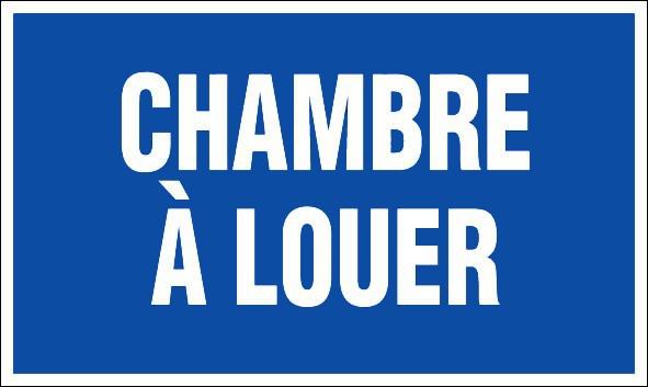 CHAMBRE A LOUER  PANNEAUX DE SIGNALISATION ET SIGNALETIQUE