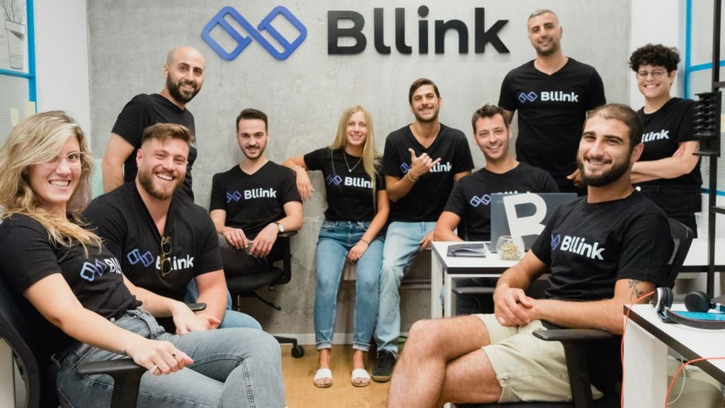 The Bllink team. The company offers a new streamlined payment and collection system for tenants and residential managers.(Courtesy of Bllink)