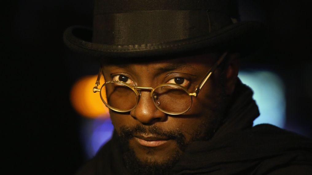 """Will.I.Am, singer and judge of """"Alter Ego,"""" admires Rocsi Diaz and considers her an influential personality for his musical generation. (Mario Tama/Getty Images)"""