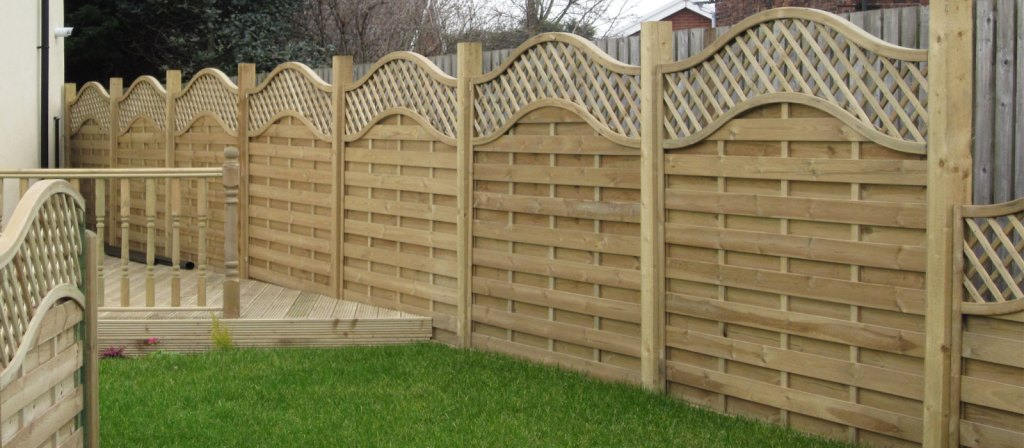 traditional garden fencing