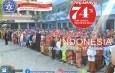 Meperingati HUT RI ke 74 SD Muhammadiyah Ponorogo Mengadakan Upacara Bendera