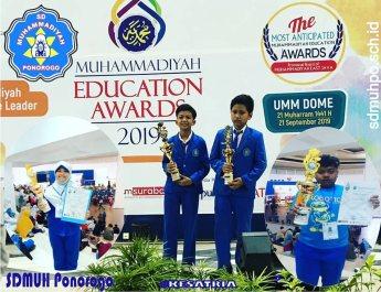 Prestasi ME-AWARDS Jawa Timur 2019